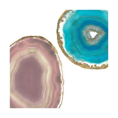 Gem Stones II-Jennifer Goldberger-Art Print