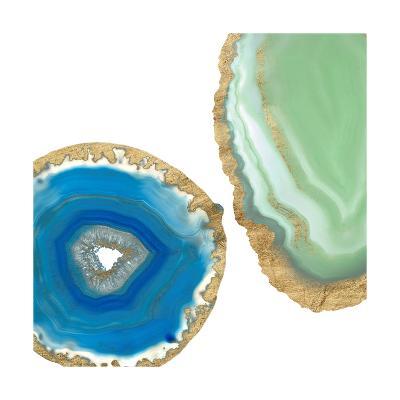 Gem Stones III-Jennifer Goldberger-Art Print