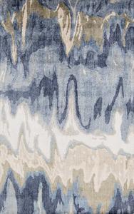 Gemini Area Rug - Cobalt/Light Gray 5' x 8'