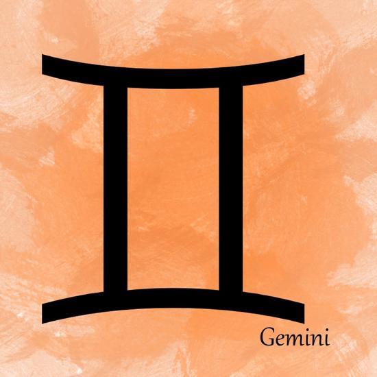 Gemini - Orange-Veruca Salt-Art Print