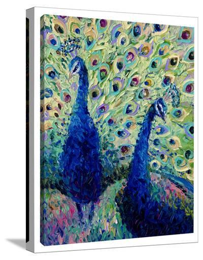 Gemini Peacock-Iris Scott-Gallery Wrapped Canvas