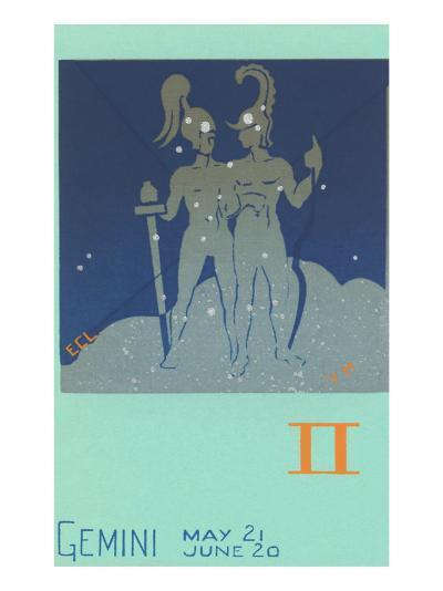 Gemini, the Twins--Art Print