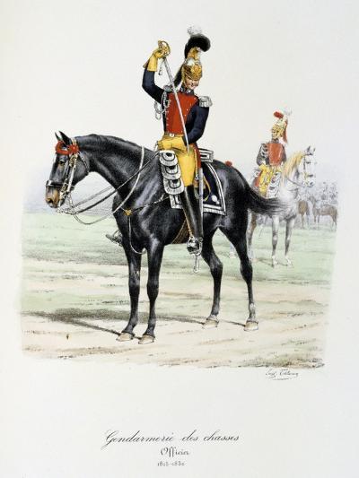 Gendarmerie Des Chasses, 1815-30-Eugene Titeux-Giclee Print