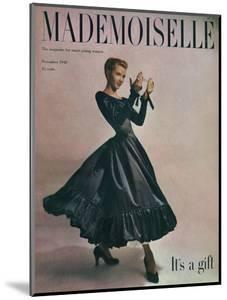 Mademoiselle Cover - November 1948 by Gene Fenn