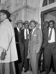 Bus Boycott Trial King by Gene Herrick