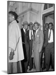 Bus Boycott Trial King by Gene Herrick