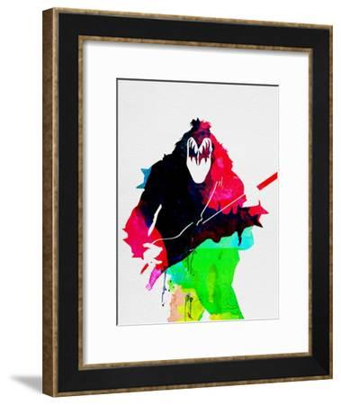 Gene Watercolor-Lora Feldman-Framed Art Print