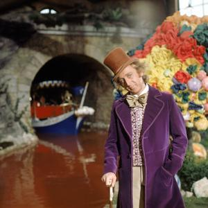 """Gene Wilder. """"Willy Wonka and the Chocolate Factory"""" [1971], Directed by Mel Stuart."""