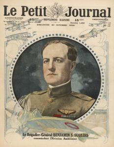 General Benjamin Foulois, Chief of Air Service for the American Expeditionary Forces
