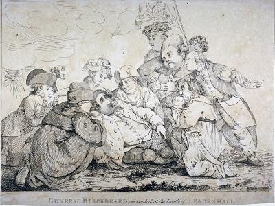 General Blackbeard Wounded at the Battle of Leadenhall, 1784-John Boyne-Giclee Print