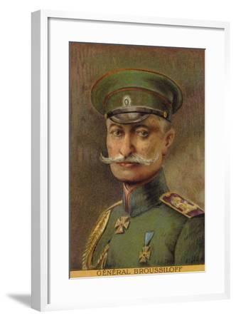 General Broussiloff--Framed Giclee Print