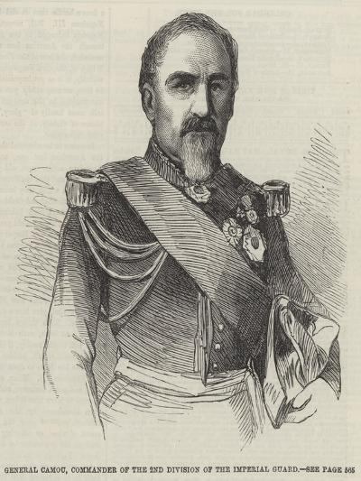 General Camou, Commander of the 2nd Division of the Imperial Guard--Giclee Print