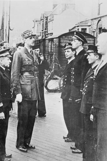 General Charles De Gaulle--Photographic Print