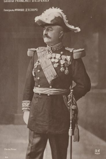 General D'Esperey--Photographic Print