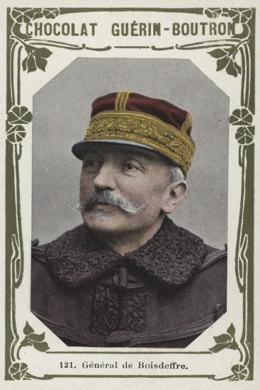 General De Boisdeffre--Giclee Print