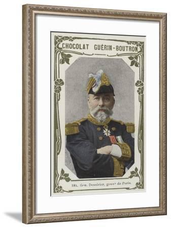 General Dessirier, Gouverneur De Paris--Framed Giclee Print