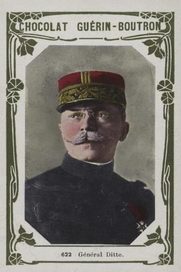 General Ditte--Giclee Print