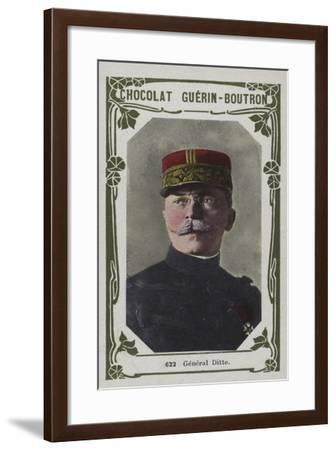 General Ditte--Framed Giclee Print