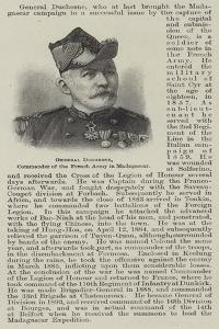 General Duchesne, Commander of the French Army in Madagascar