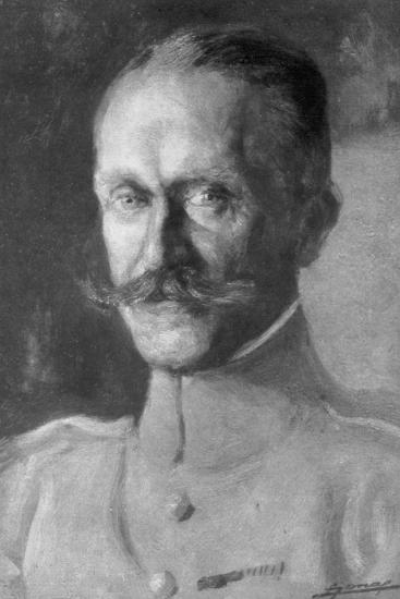 General Duval, Head of the French Air Force, 1918--Giclee Print