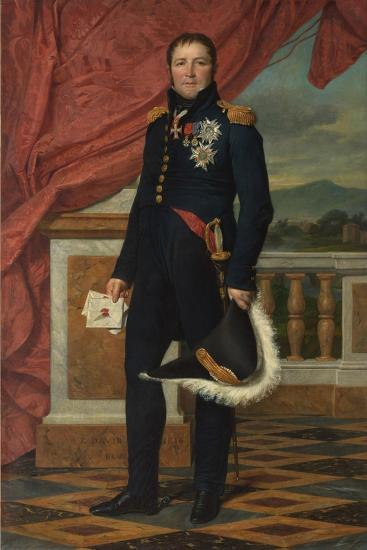General Etienne-Maurice Gerard, 1816-Jacques Louis David-Giclee Print