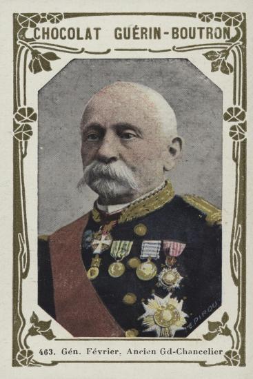 General Fevrier, Ancien Grand-Chancelier--Giclee Print