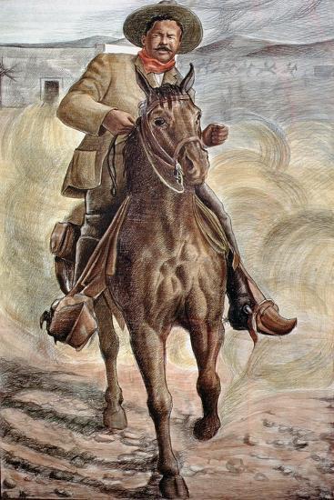 General Francisco Villa--Giclee Print