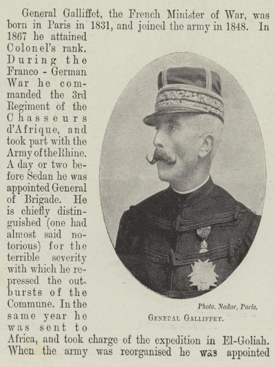 General Galliffet--Giclee Print