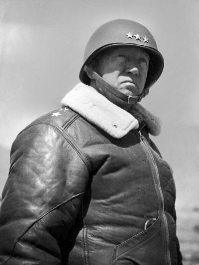 General George S. Patton During World War II--Premium Photographic Print