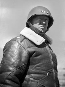 General George S. Patton During World War II