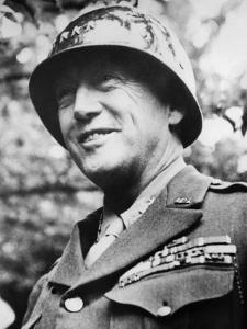 General George S. Patton Jr., During the Early Stages of the Invasion of Normandy, France, 1944