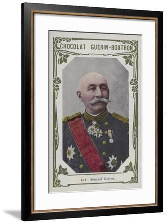 General Goiran--Framed Giclee Print