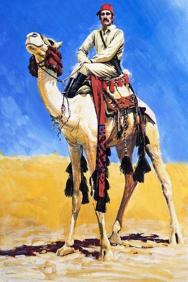 General Gordon of Khartoum-Graham Coton-Giclee Print