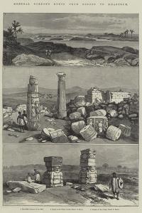 General Gordon's Route from Berber to Khartoum