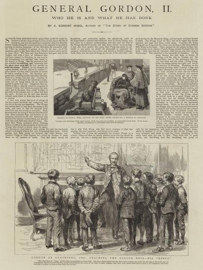 General Gordon--Giclee Print