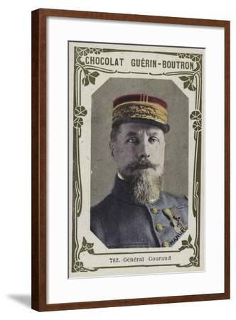 General Gouraud--Framed Giclee Print