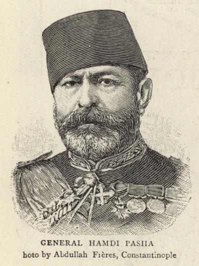 General Hamdi Pasha--Giclee Print