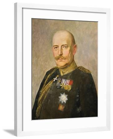General Helmuth Von Moltke the Younger, c.1916-Vienna Nedomansky Studio-Framed Giclee Print