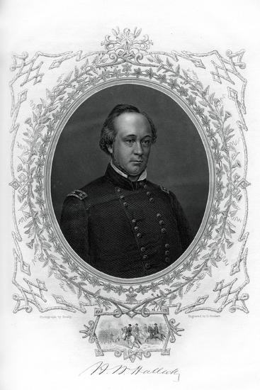 General Henry Wager Halleck, Senior Union Army Commander, 1862-1867-G Stodart-Giclee Print