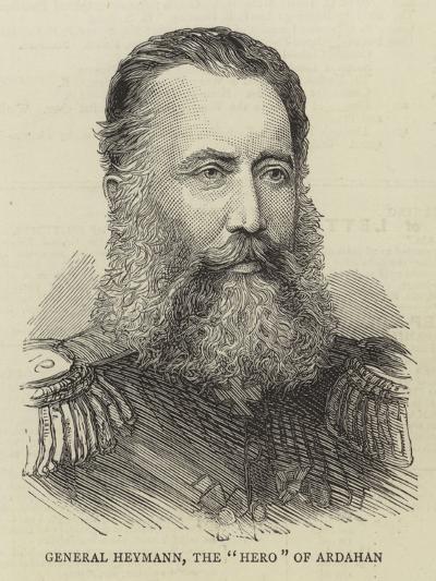 General Heymann, the Hero of Ardahan--Giclee Print