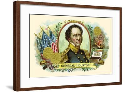 General Houston--Framed Art Print