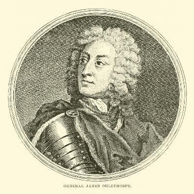 General James Oglethorpe--Giclee Print
