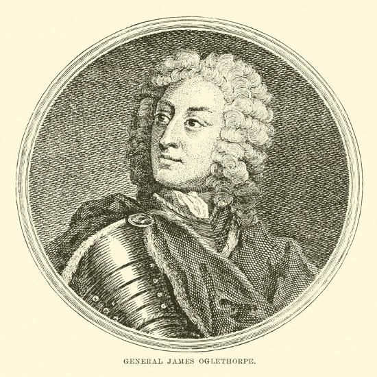 General James Oglethorpe--Giclee Print