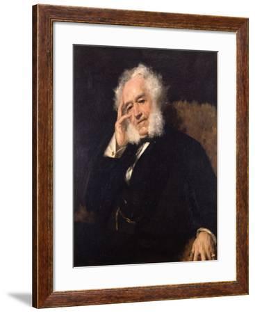 General James Watson Webb, 1880-William Merritt Chase-Framed Giclee Print