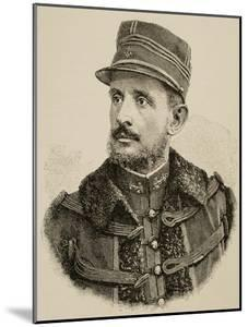 General Jean-Baptiste Marchand (1863-1934). French Military Officer and Explorer in Africa.