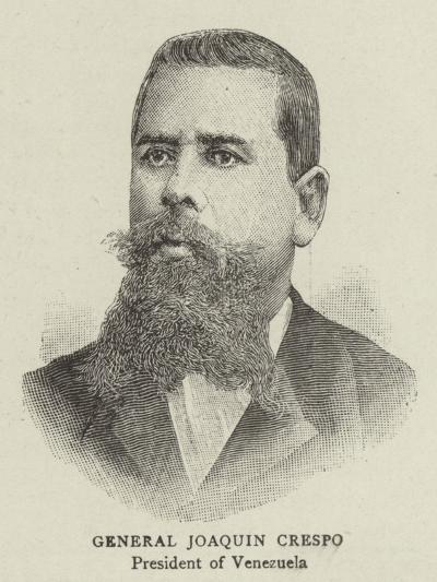 General Joaquin Crespo--Giclee Print