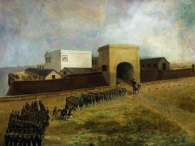 General Lavalle's Armed Forces Re-Entering Fort of Buenos Aires, December 1, 1828, Argentina--Giclee Print