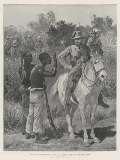 General Louis Botha, the Commander-In-Chief of the Boer Guerilla Forces-Richard Caton Woodville II-Giclee Print