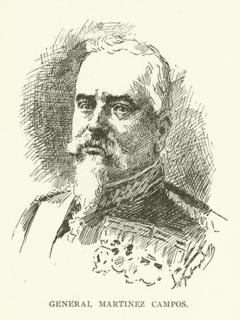 General Martinez Campos--Giclee Print