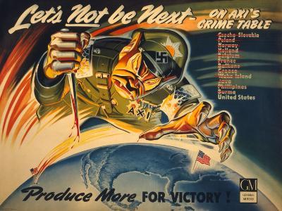 General Motors World War 2 Poster--Art Print